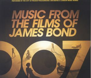 CITY OF PRAGUE PHILHARMONIC ORCHESTRA, The - Music From The Films Of James Bond (Soundtrack)