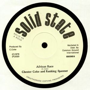 COKE, Chester/RANKING SPANER/SOLID STATE ALL STARS - African Race