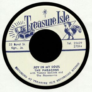 PARAGONS, The/TOMMY McCOOK/THE SUPERSONICS - Joy In My Soul