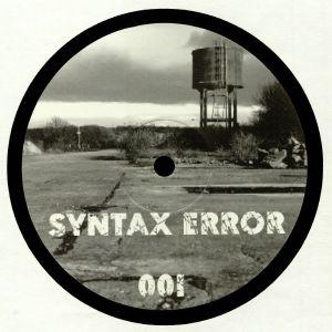 PROGRESSION/MICHAEL WELLS aka GTO/AAHAN/BOGLIN - Syntax Error 001