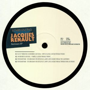 VAGABUNDO CLUB SOCIAL/SLEAZY MCQUEEN/PONTCHARTRAIN - Jacques Renault Remixes EP