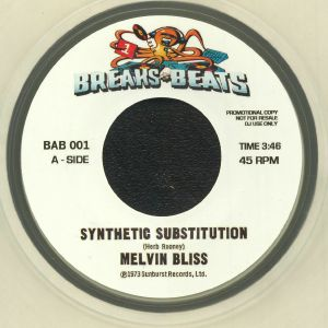 BLISS, Melvin/SWEET DADDY FLOYD - Synthetic Substitution (reissue)