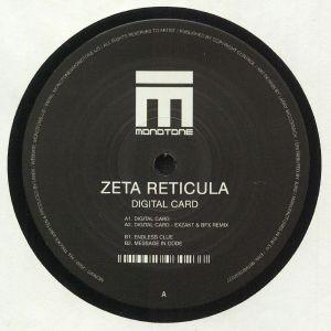 ZETA RETICULA - Digital Card (Exzakt & BFX mix)