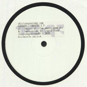 SAUDADE - Choices EP (Juno Exclusive)