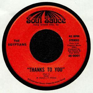 EGYPTIANS, The - Thanks To You (reissue)