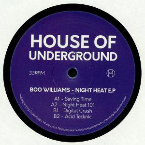 WILLIAMS, Boo - Night Heat EP