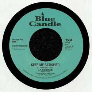 JP ROBINSON - Keep Me Satisfied (reissue)
