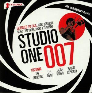 VARIOUS - Soul Jazz Records Presents Studio One 007: Licenced To Ska: James Bond & Other Film Soundtracks & TV Themes