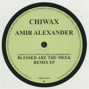 ALEXANDER, Amir - Blessed Are The Meek