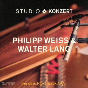 WEISS, Philipp/WALTER LANG - Studio Konzert
