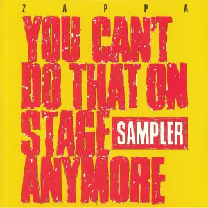 ZAPPA, Frank - You Can't Do That On Stage Anymore: Sampler (Record Store Day 2020)