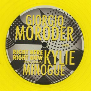 MORODER, Giorgio feat KYLIE MINOGUE - Right Here Right Now (Record Store Day 2020)