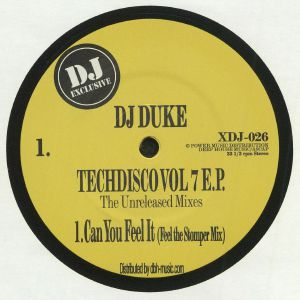DJ DUKE - Techdisco Vol 7 EP (The Unreleased Mixes)