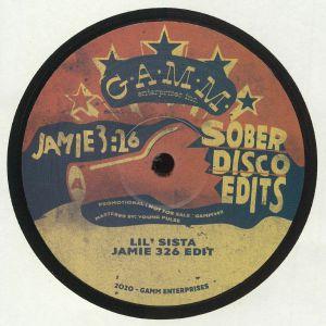 JAMIE 326 - Sober Disco Edits
