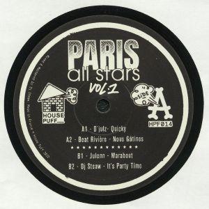 D'JULZ/BEAT RIVIERE/JULENN/DJ STEAW - Paris All Stars Vol 1