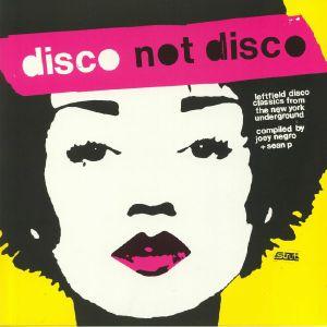 NEGRO, Joey/SEAN P/VARIOUS - Disco Not Disco: Leftfield Disco Classics From The New York Underground (B-STOCK)