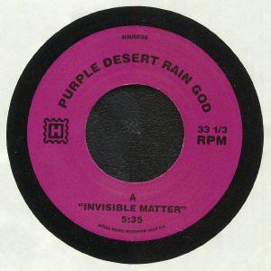 PURPLE DESERT RAIN GOD - Invisible Matter