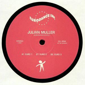 MULLER, Julian - Eurodance Edits 1