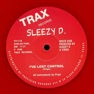 SLEEZY D - I've Lost Control (reissue)