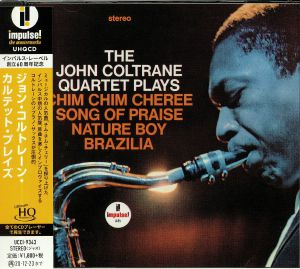COLTRANE, John - The John Coltrane Quartet Plays (remastered)