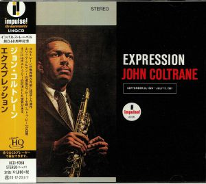 COLTRANE, John - Expression (remastered)