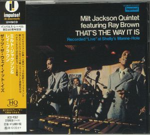 MILT JACKSON QUINTET feat RAY BROWN - That's The Way It Is (remastered)