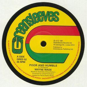 WADE, Wayne/BUNNY LIE LIE - Poor & Humble