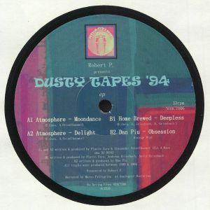 ROBERT P presents ATMOSPHERE/HOME BREWED/DAN PIU - Dusty Tapes EP