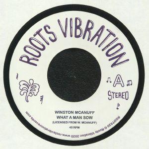 McANUFF, Winston/FATMAN RIDDIM SECTION - What A Man Sow