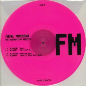 FATAL MORGANA - The Destructive Remixes