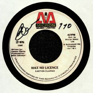 CLARKE, Easton/LEE PERRY/THE UPSETTERS - Bike No License
