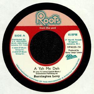 LEVY, Barrington/ROOTS RADICS - A Yah Me Deh