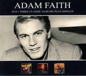 ADAM FAITH - Three Classic Albums Plus Singles
