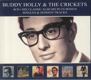 HOLLY, Buddy/THE CRICKETS - Six Classic Albums Bonus Singles & Session Tracks
