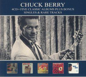 BERRY, Chuck - Five Classic Albums Bonus Singles & Rare Tracks