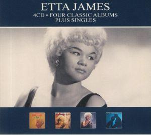 JAMES, Etta - Four Classic Albums Plus Singles