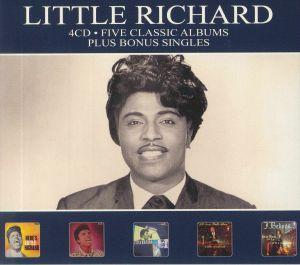 LITTLE RICHARD - Five Classic Albums & Bonus Singles