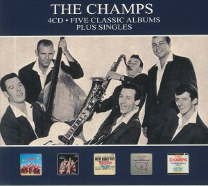 CHAMPS, The - Five Classic Albums & Singles