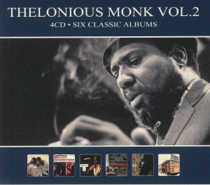 MONK, Thelonious - Six Classic Albums Vol 2