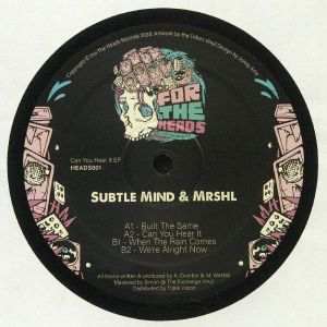 SUBTLE MIND/MRSHL - Can You Hear It EP