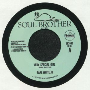 WHITE, Earl Jr - Very Special Girl