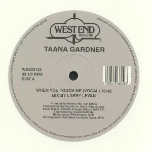 GARDNER, Taana - When You Touch Me