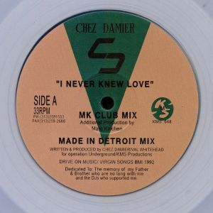 DAMIER, Chez - I Never Knew Love (reissue)