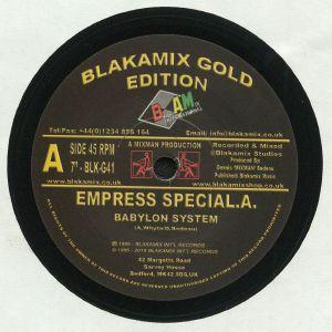 EMPRESS SPECIAL A/MIXMAN - Babylon System