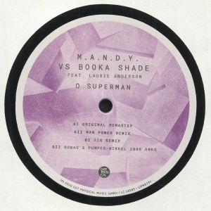 MANDY vs BOOKA SHADE feat LAURIE ANDERSON - O Superman