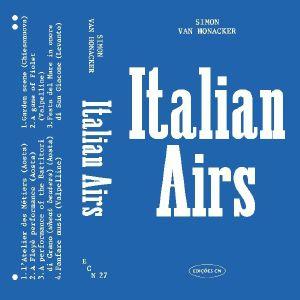 VAN HONACKER, Simon - Italian Airs