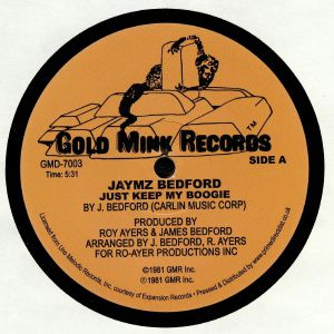 BEDFORD, Jaymz - Just Keep My Boogie (reissue)