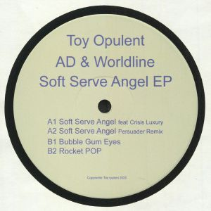 AD & WORLDLINE aka ALEXI DELANO/MICHAEL MASTERSON - Soft Serve Angel EP