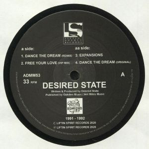 DESIRED STATE - Dance The Dream EP 1991-1992: Reloaded