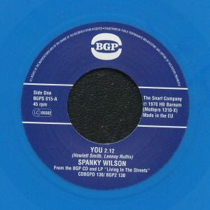 WILSON, Spanky - You (reissue) (Juno Exclusive )